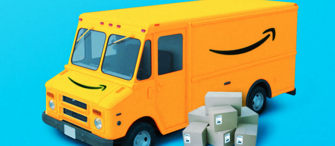 Amazon truck marketing